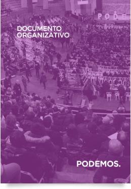 Documento Organizativo Podemos