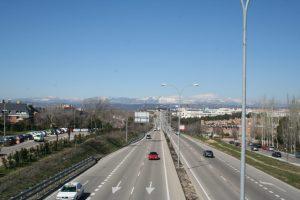 Podemos pide convertir la M-505 (carretera El Escorial) en una vía urbana