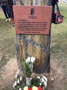 Lee más sobre el artículo Un monolito en Las Rozas recordará al cámara José Couso
