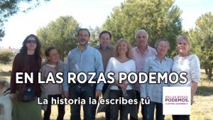 """Lee más sobre el artículo En Las Rozas Podemos """"La Historia la Escribes Tú"""""""