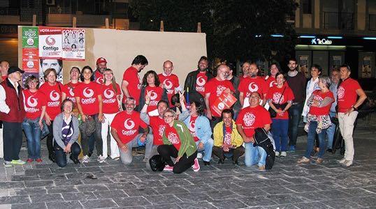 el Grupo municipal Contigo por Las Rozas estará con Unidas por Las Rozas en La Fiesta de La Retamosa