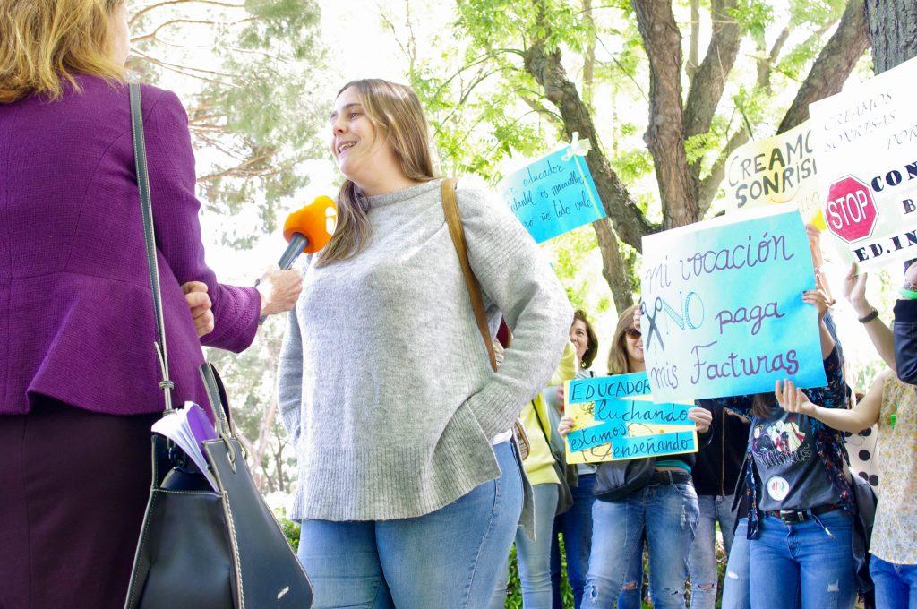 educadora de primer ciclo de infantil Tamara García