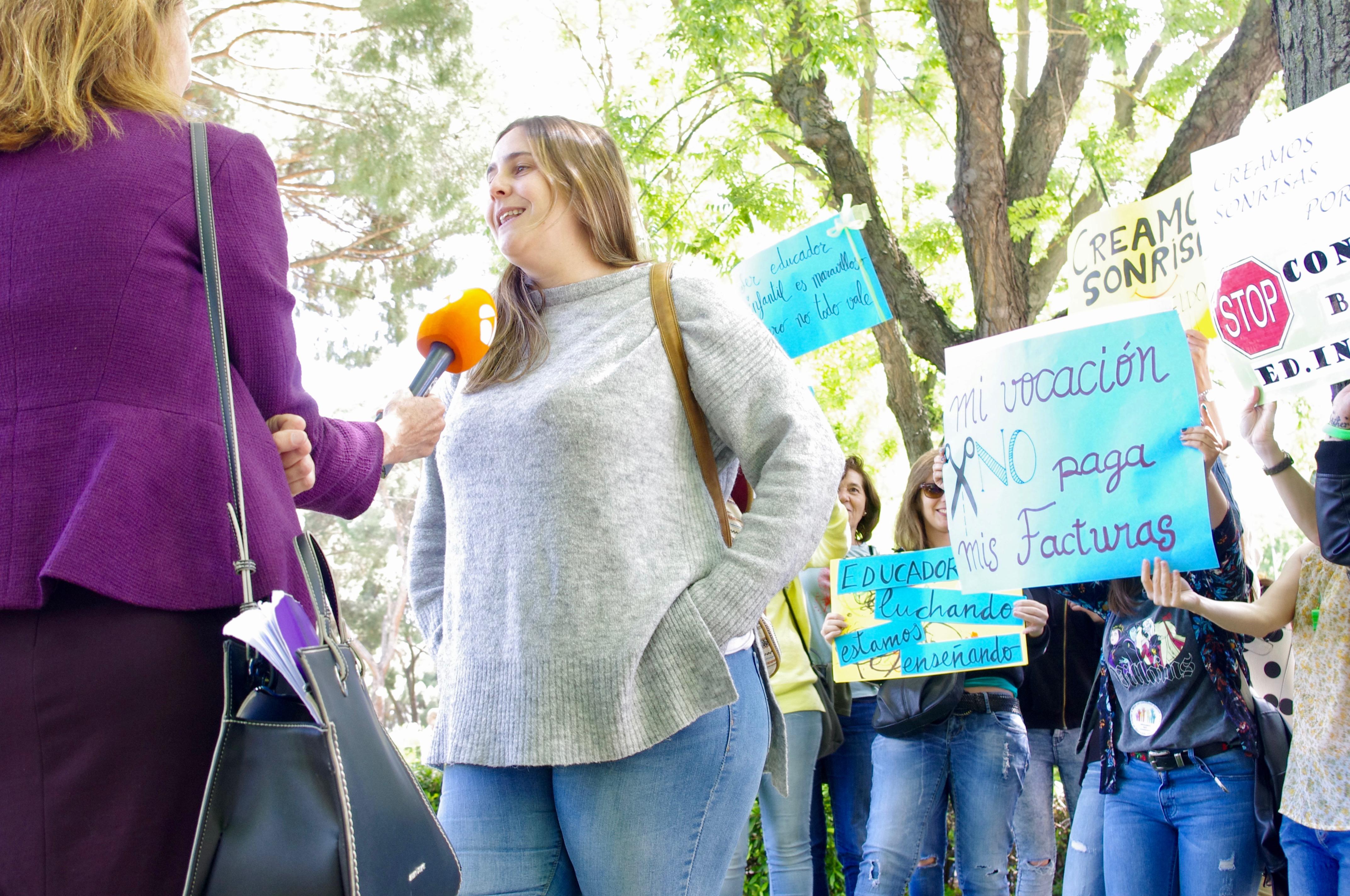 Lee más sobre el artículo Trabajadoras de educación infantil en huelga contra el nuevo convenio colectivo