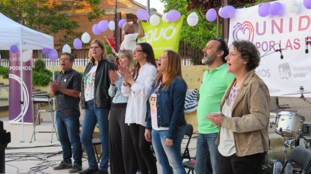 Lee más sobre el artículo Se presenta la candidatura de Unidas por Las Rozas con una fiesta en Las Matas donde no faltó la música y la política