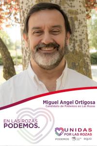 """Miguel Angel Ortigosa Candidato y cabeza de lista por Podemos Las Rozas """"Municipales 2019"""""""